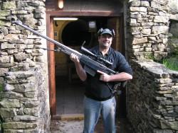 50 CAL at Calton moor range